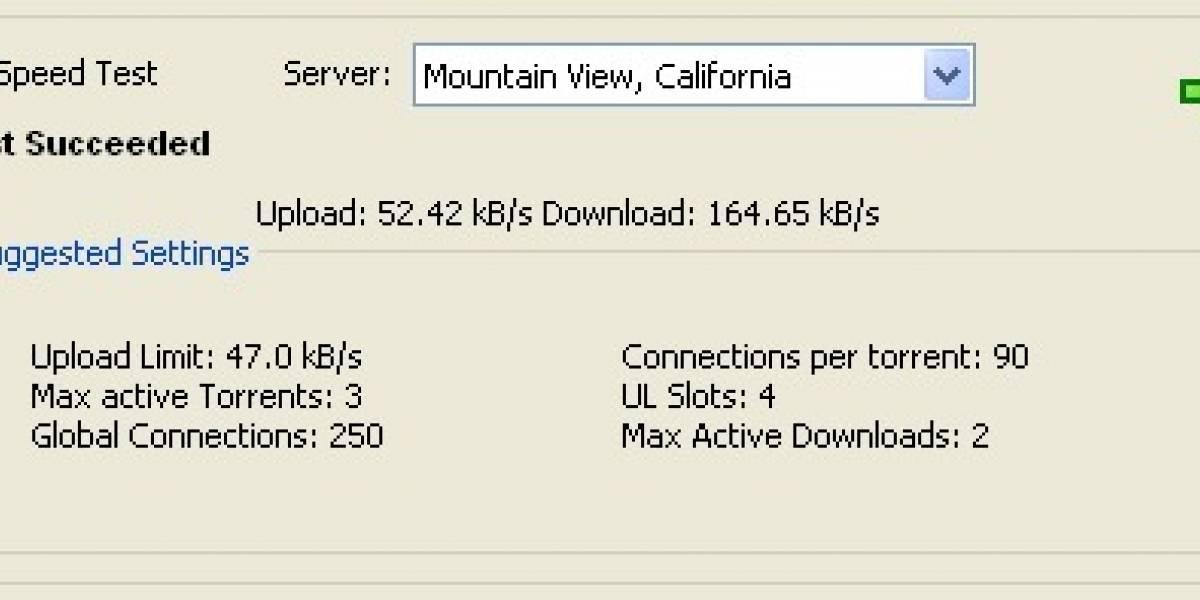 uTorrent ayuda a Google a diagnosticar la internet