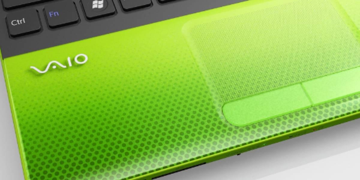 Sony lanza nueva línea Vaio de bajo precio con procesador Core i3