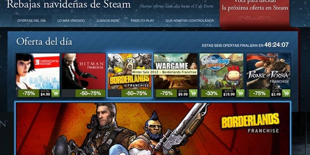 Arranca la venta navideña de Steam