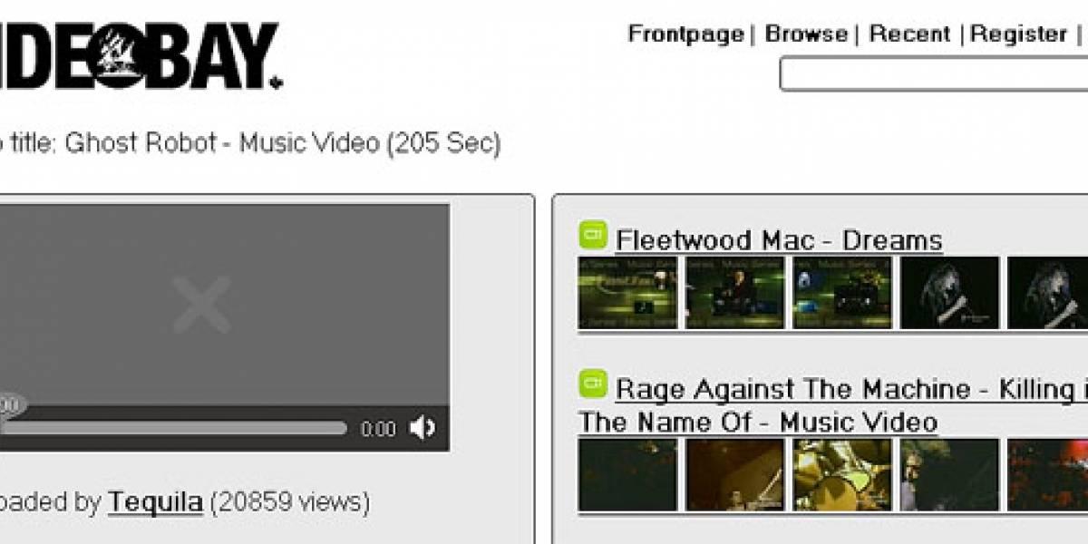 """VideoBay: ¿La competencia """"pirata"""" de Youtube con HTML5?"""