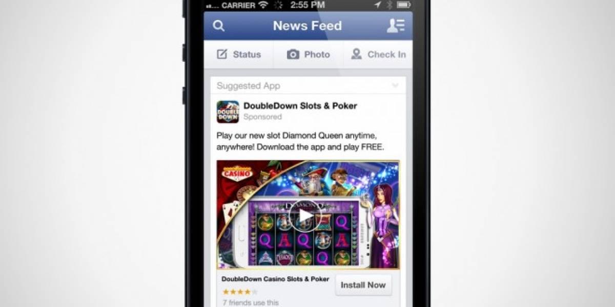 Facebook comienza a admitir avisos en video para sus apps