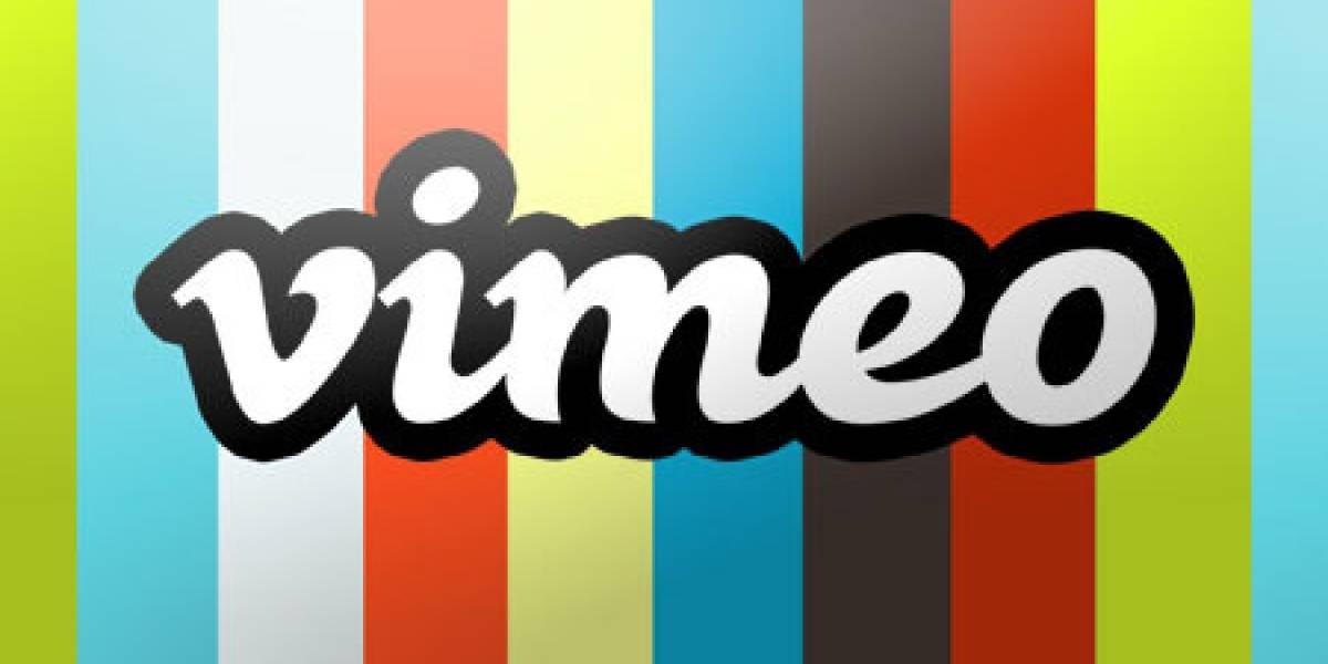 Vimeo también ofrece soporte HTML5