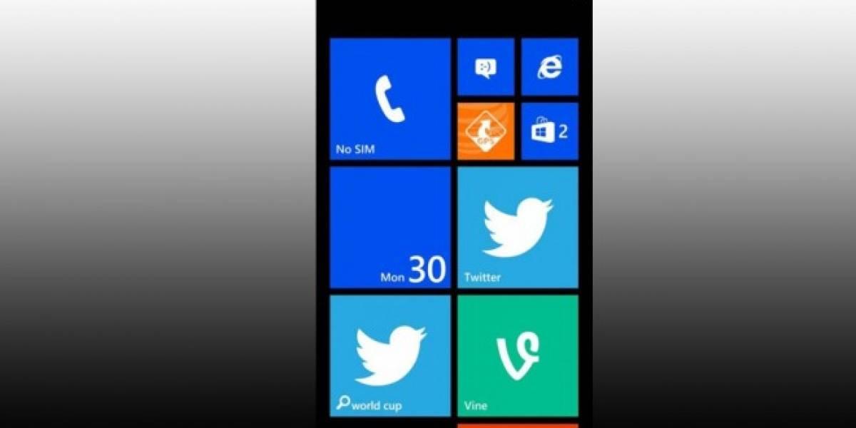 Vine para Windows Phone 8 se deja ver en una imagen revelada por Twitter
