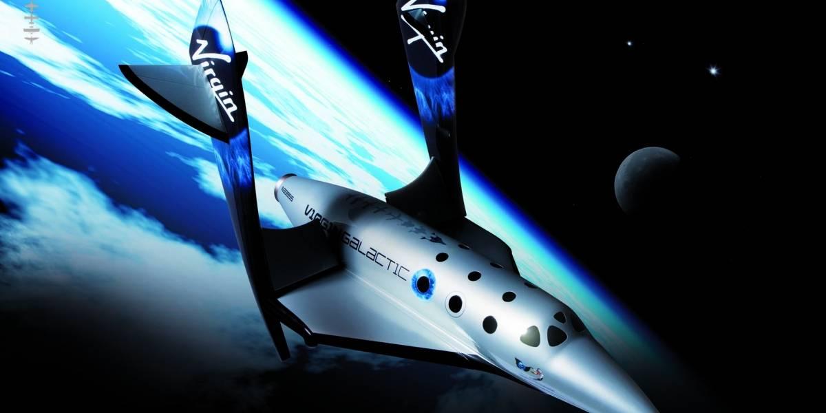 Virgin Galactic mostrará hoy la primera nave espacial comercial