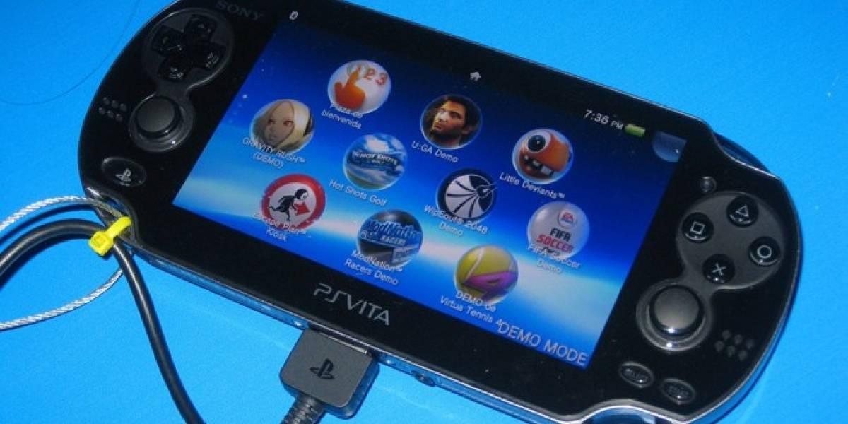 Sony: Escasez de juegos en PS Vita se debe a la falta de apoyo de compañías externas