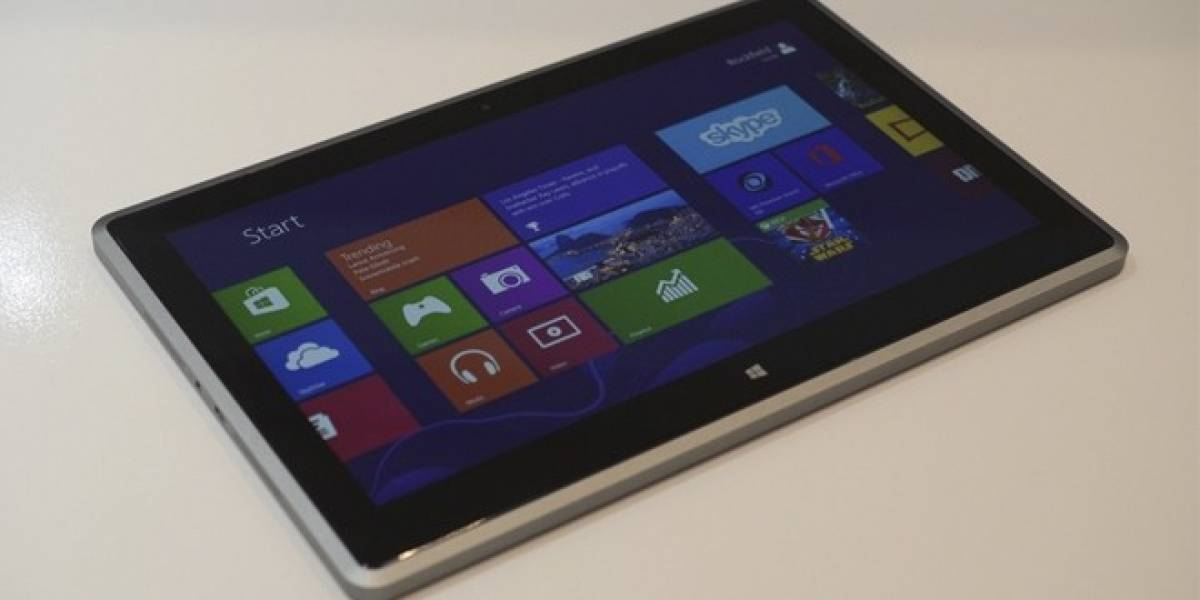CES 2013: Vizio y su otra tableta con Windows 8 y hardware AMD