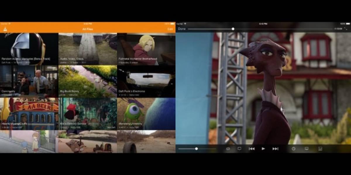 Se actualiza VLC para iOS con nuevo diseño y más funcionalidades
