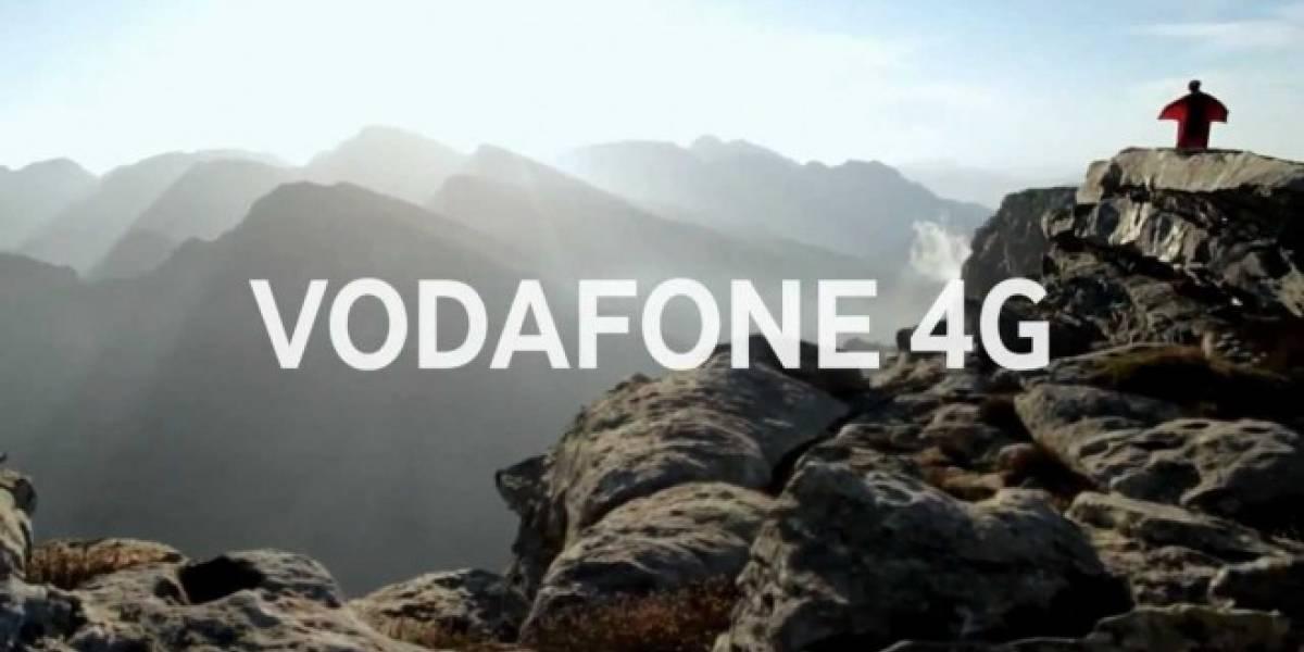Vodafone no cobrará extra por usar su red 4G
