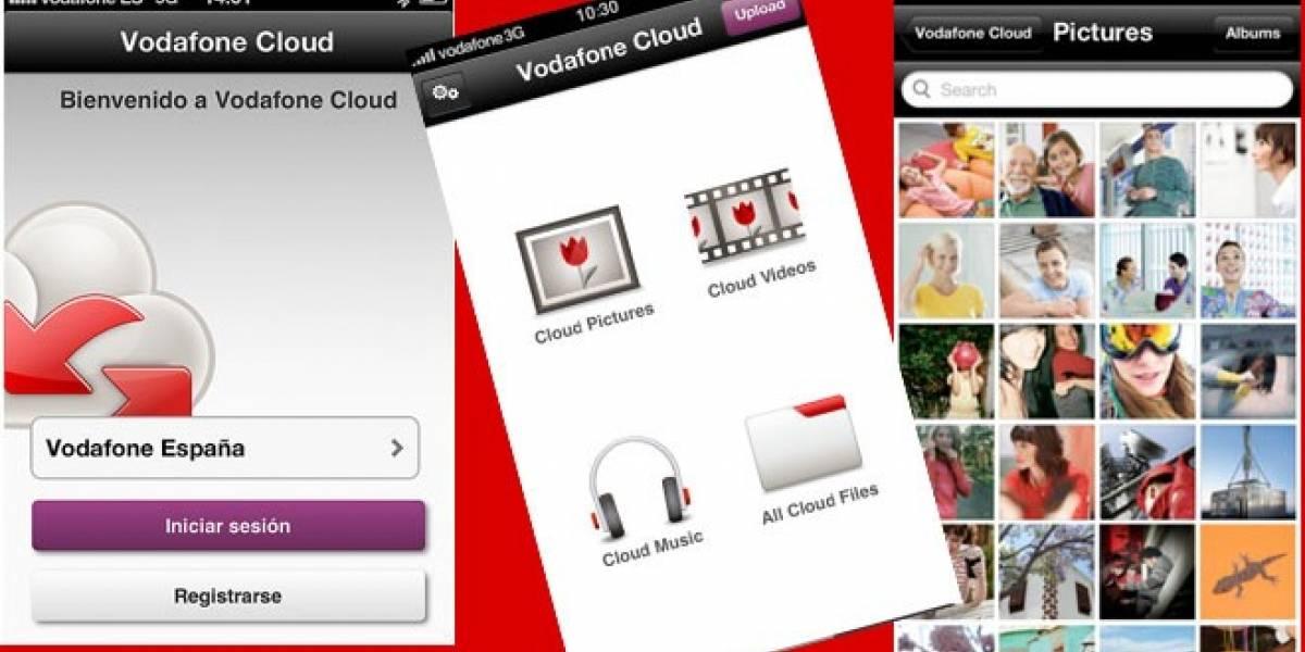 España: El servicio de almacenamiento Vodafone Cloud llega a terminales iOS