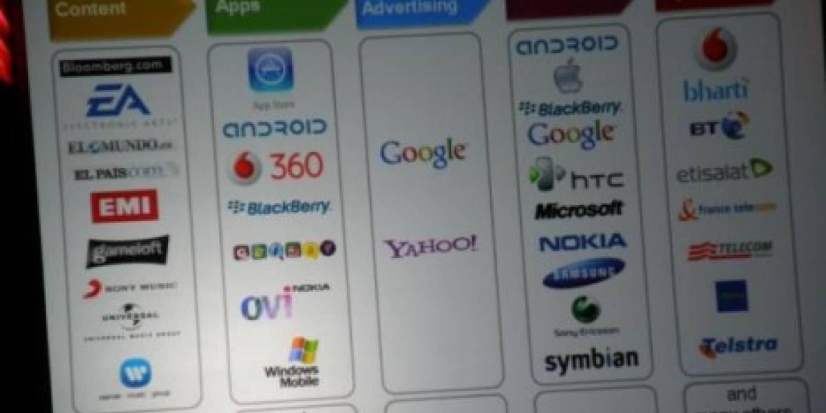 CEO de Vodafone suspicaz frente a dominio de Google