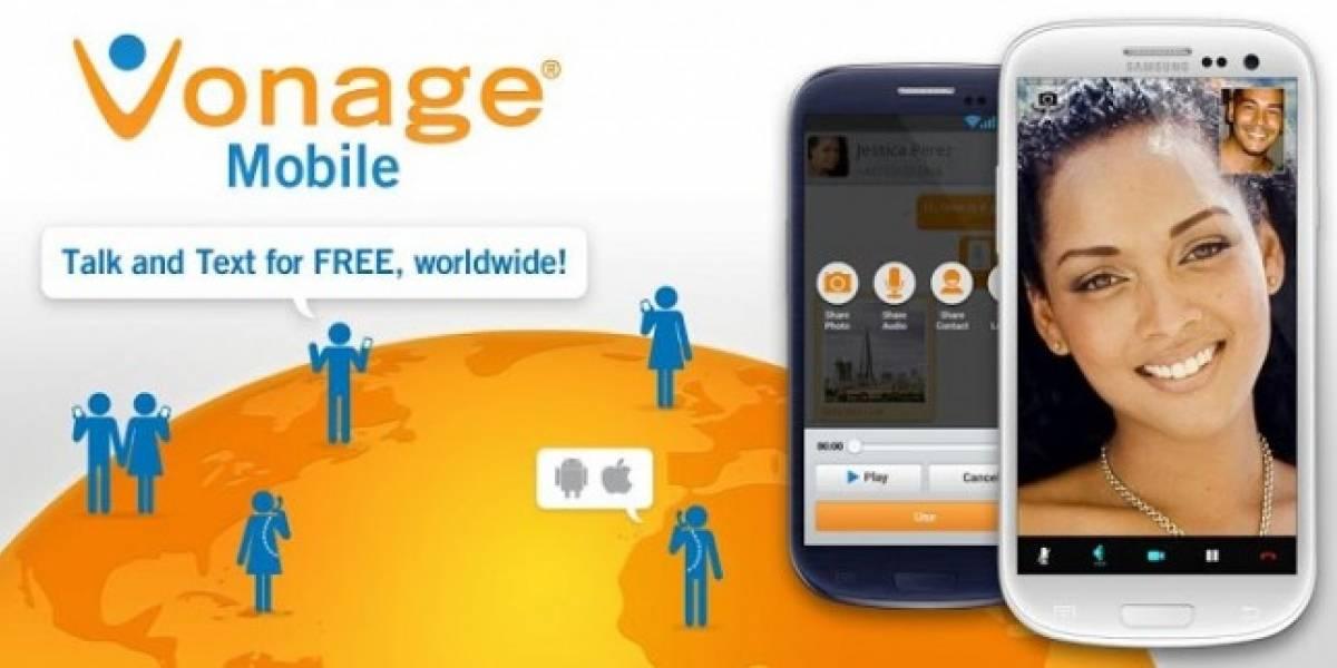 Actualización de Vonage permite ahora realizar videollamadas entre usuarios