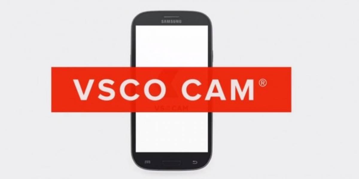 VSCO Cam llega a Android finalmente