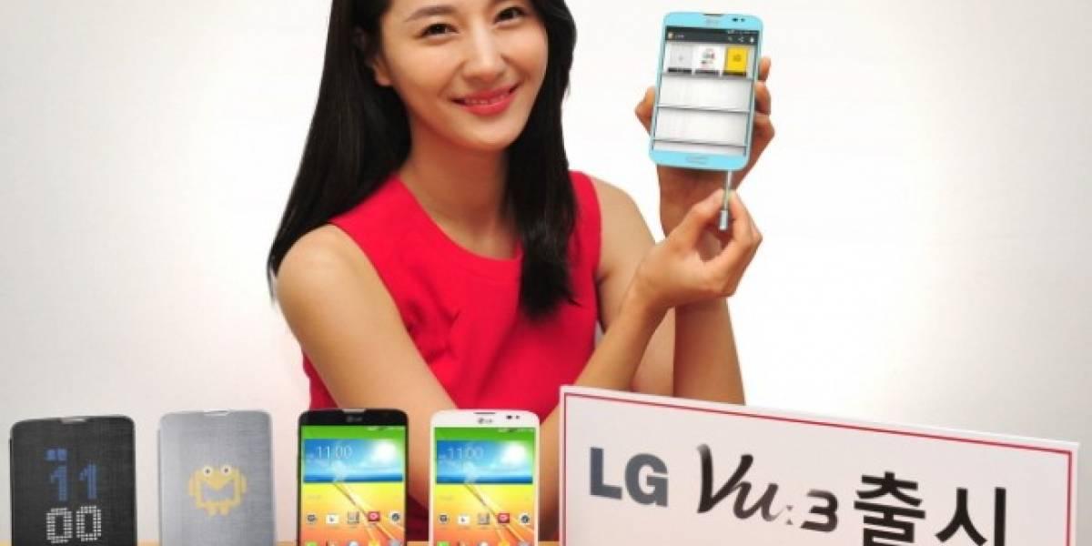 LG presenta su nuevo smartphone Vu 3 con pantalla 4:3