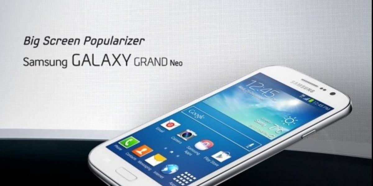 Se filtran detalles del Samsung Galaxy Grand Neo