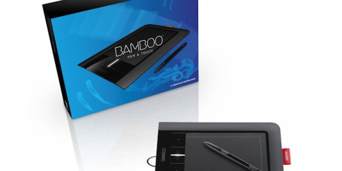 Wacom lanza nueva serie de tabletas con tecnología multitáctil