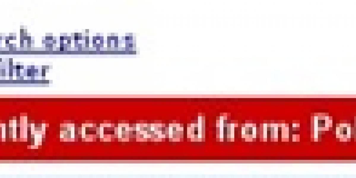 Gmail te avisa si tu cuenta tiene actividad sospechosa