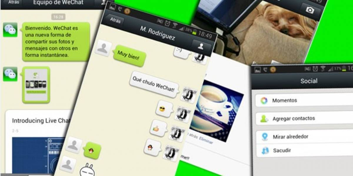Descarga WeChat y comienza a cambiar tu forma de comunicarte a través del móvil
