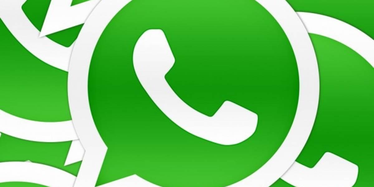 WhatsApp finaliza el último día de 2013 con más de 54.000 millones de mensajes
