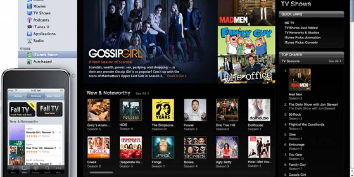 Apple vendería shows de TV a USD$0.99