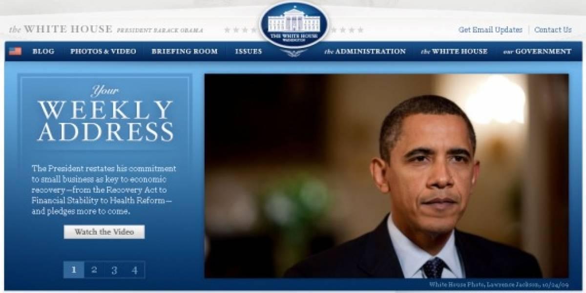 El portal de la Casa Blanca migra hacia código abierto