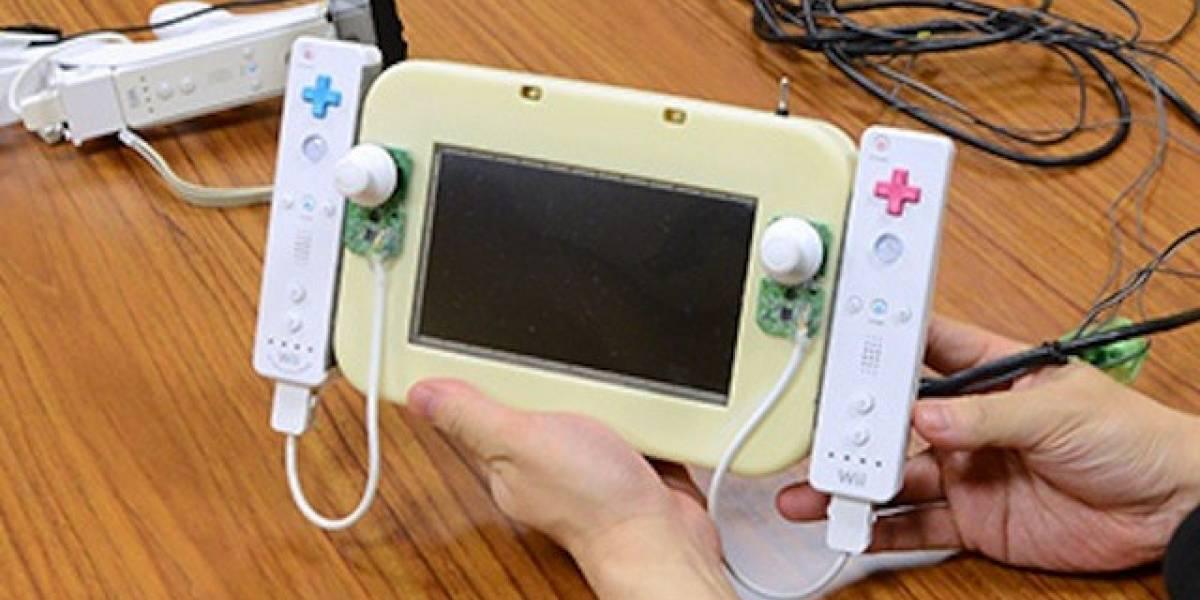 Nintendo muestra algunos de los prototipos del GamePad de Wii U