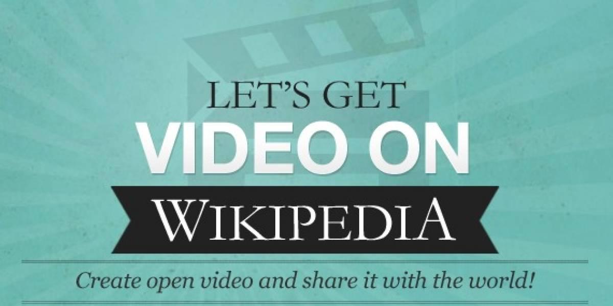 Campaña para llevar video a Wikipedia con HTML5 y Theora