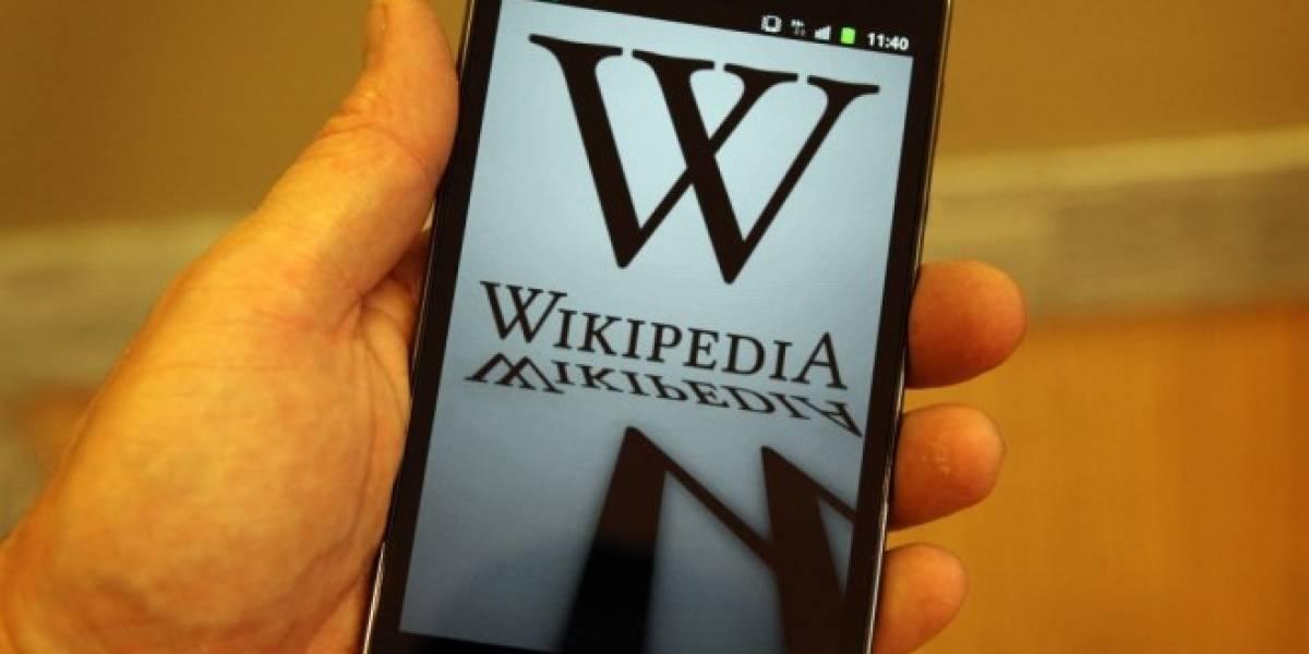Ya es posible editar la Wikipedia desde navegadores móviles