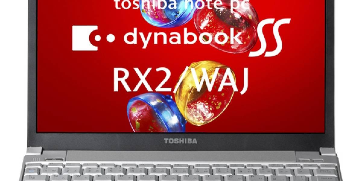 Toshiba Dynabook SSR X2 con WiMAX