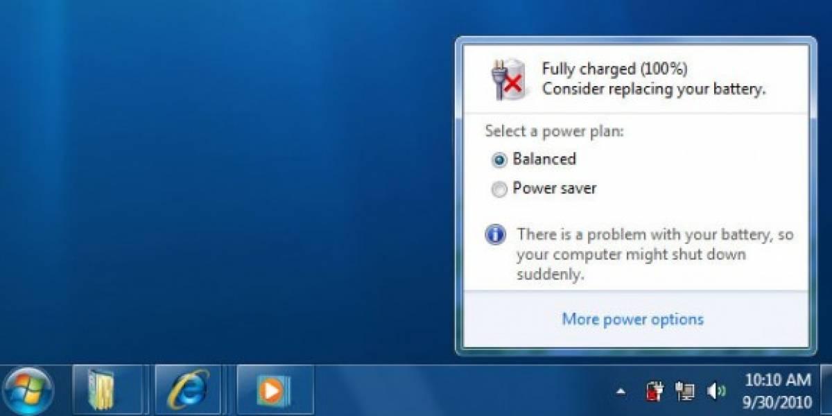 Microsoft se pronuncia respecto a las baterías y Windows 7