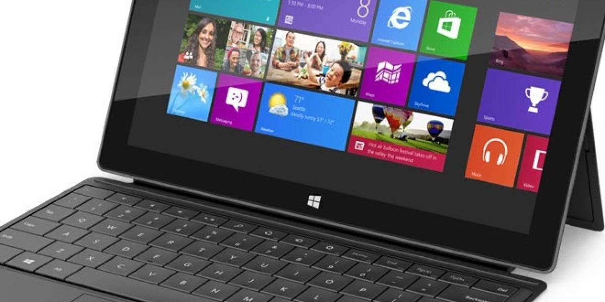 Nuevo Microsoft Surface se presenta con potencial para jugar, pero sin juegos