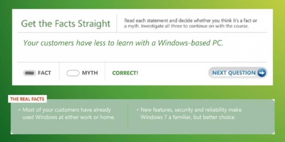 Windows 7 también es la mejor alternativa frente a Mac... según Microsoft