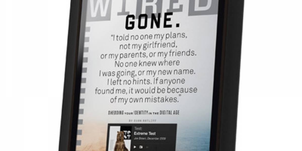 Edición Tablet de Wired Magazine quedó espectacular