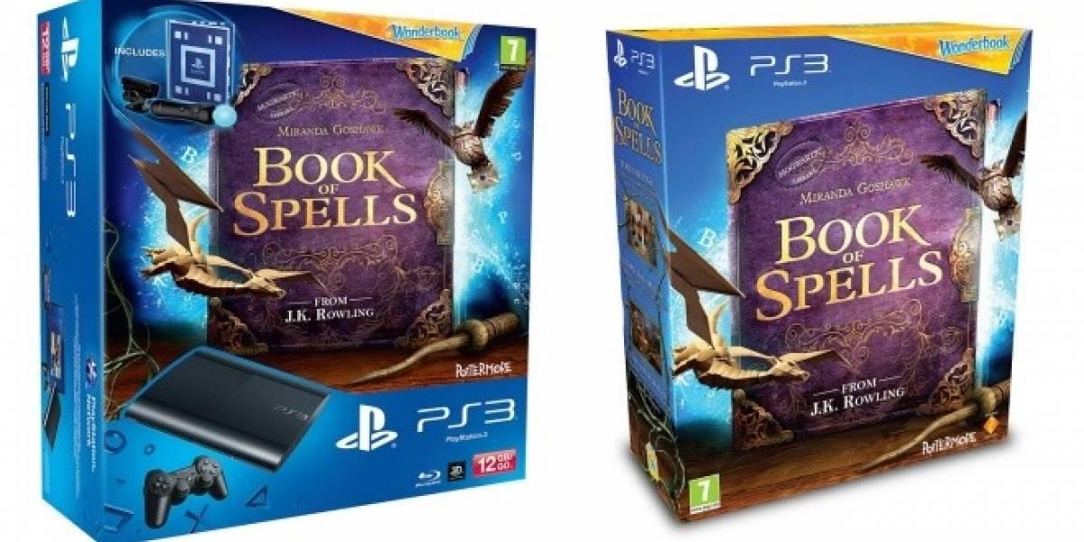 Wonderbook: Book of Spells llegará en un solo paquete junto a la nueva PS3