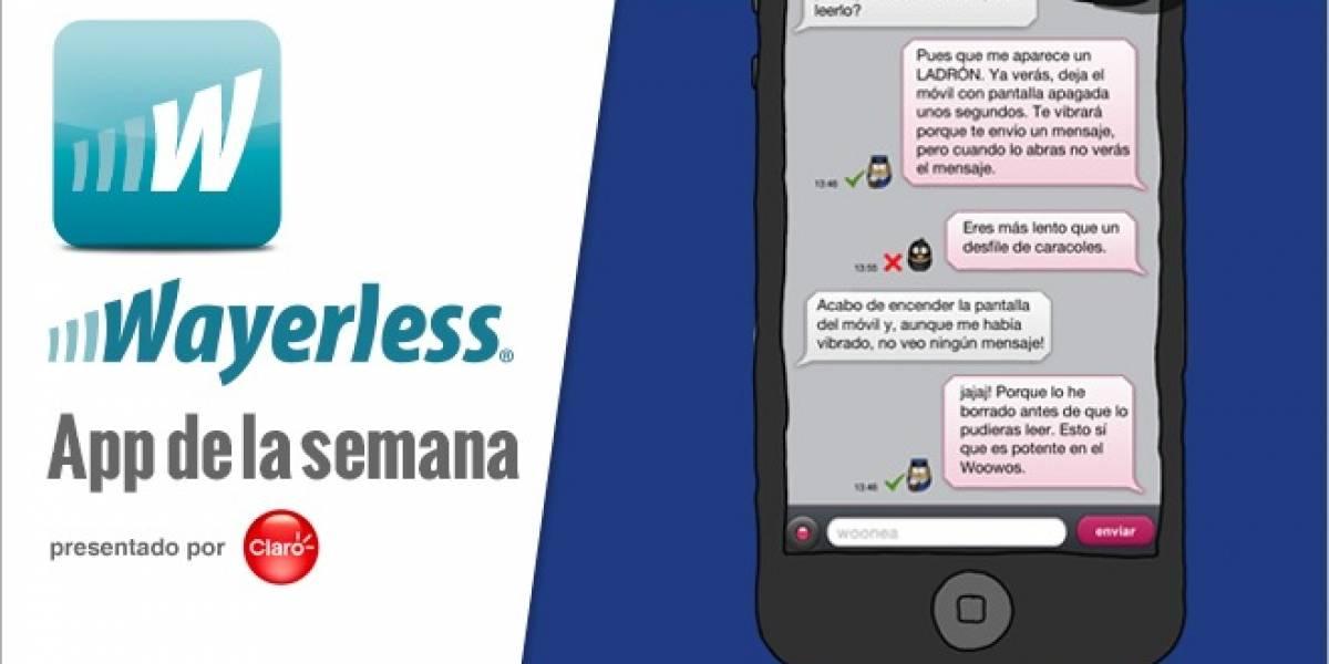 Woowos es la primera aplicación de mensajería que permite arrepentirte de tus palabras