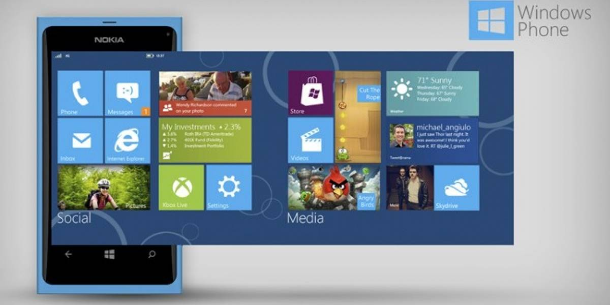 Aseguran que iOS 7 será tan plano como Windows Phone 8