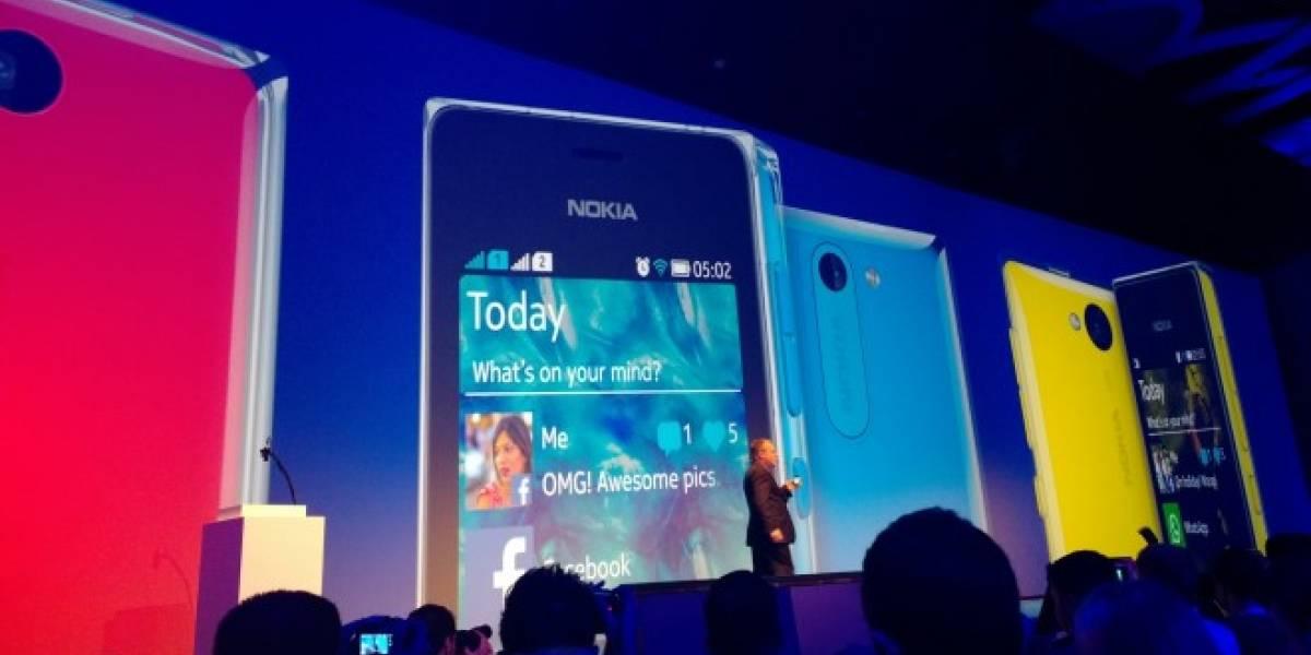 Nokia lanza el Asha 500, 502 y 503, sus nuevos modelos de entrada