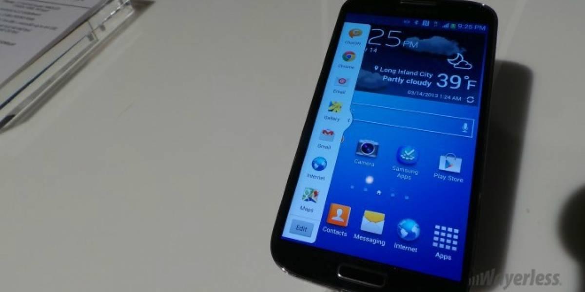 Operadoras venderán el Samsung Galaxy S4 desde el 30 de Abril en Chile