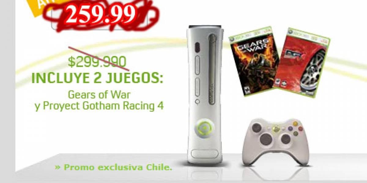 Microsoft también corta el precio de la XBOX 360 en Chile