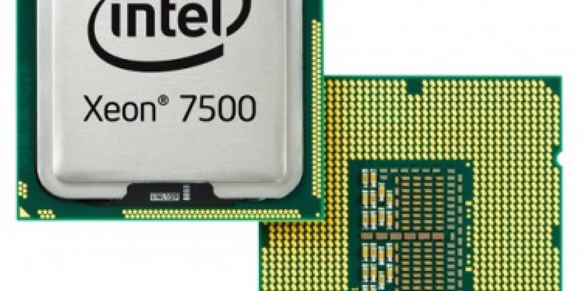 Intel lanza procesadores Xeon de 8 núcleos