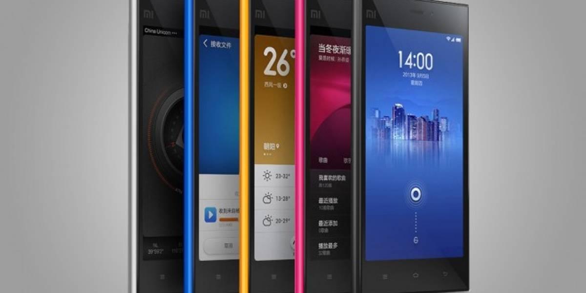 Xiaomi vendió 100.000 equipos MI-3 en tan solo 86 segundos en China