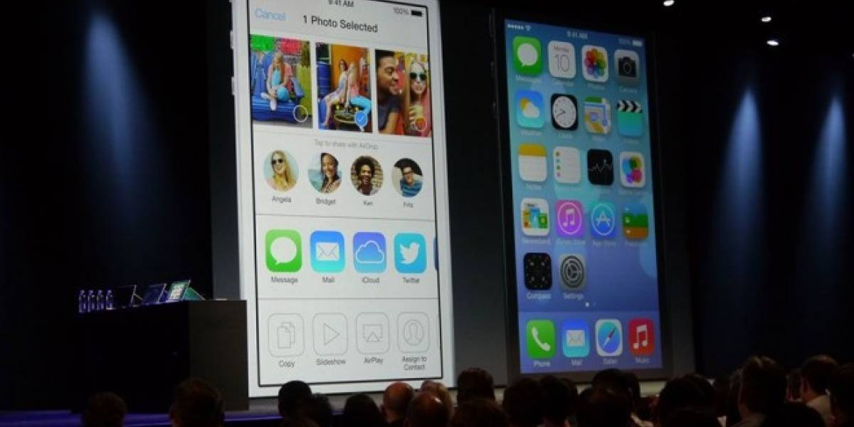 Revisa que características de iOS 7 estarán disponibles para cada dispositivo #WWDC2013