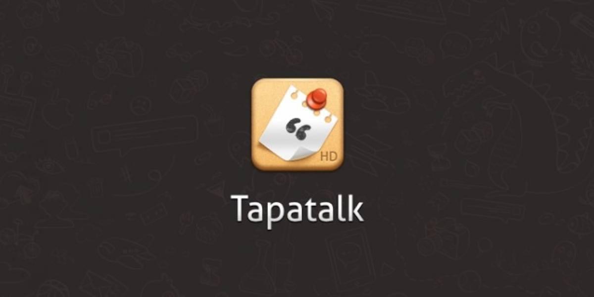 Se libera la primera versión beta pública de Tapatalk 4