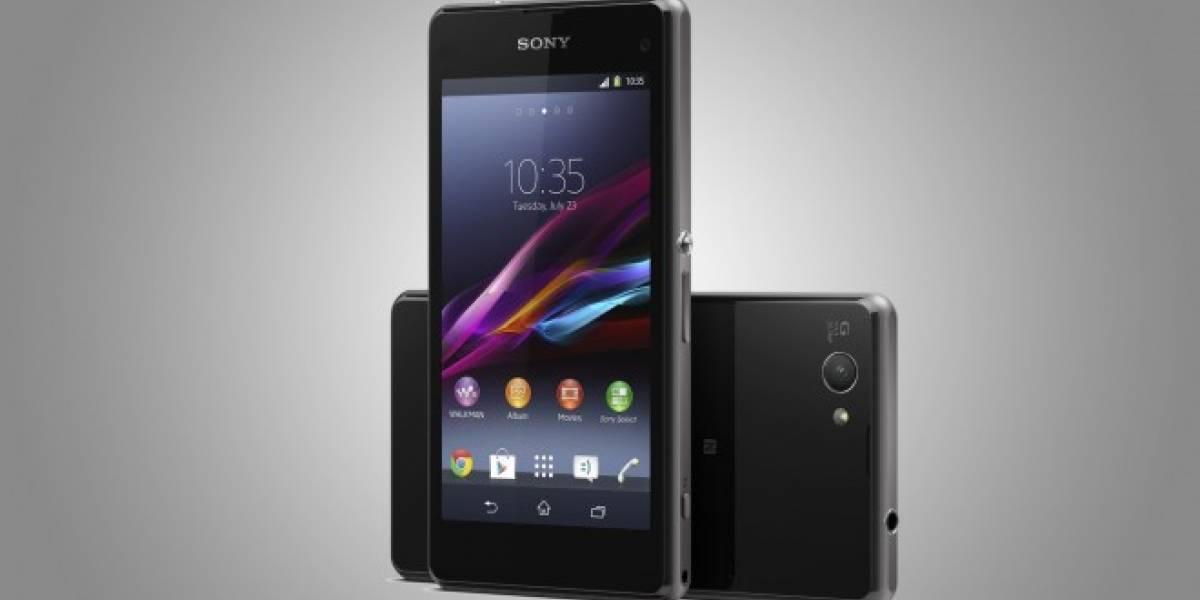 Sony Xperia Z1 Compact, el gama alta ahora en tamaño reducido #CES2014