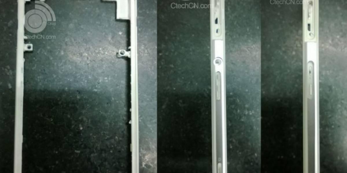 Aparece cuerpo de metal perteneciente al próximo Xperia de Sony