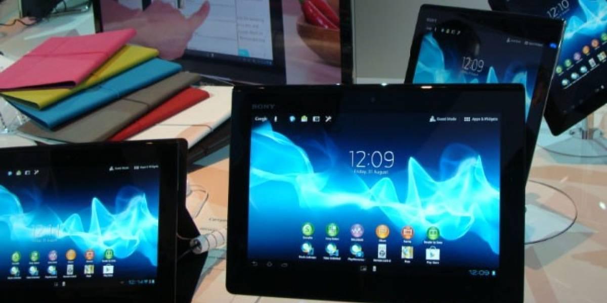Sony Xperia Tablet S recibe Jelly Bean a contar de este jueves