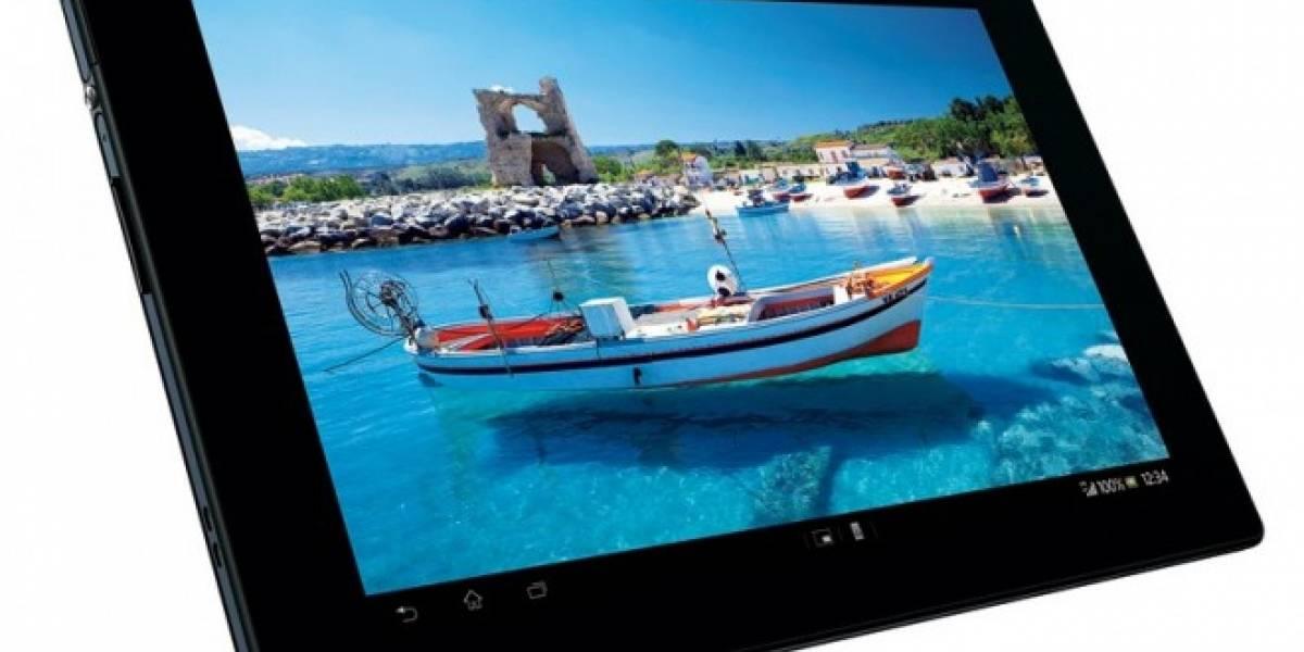 MWC13: Sony lleva su Xperia Tablet Z al resto del mundo