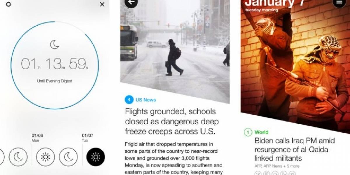 Yahoo! lanza News Digest, su propia app de noticias basada en Summly #CES2014