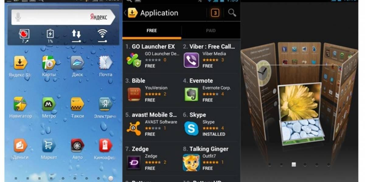 MWC13: Buscador web ruso Yandex invade el sistema operativo Google Android