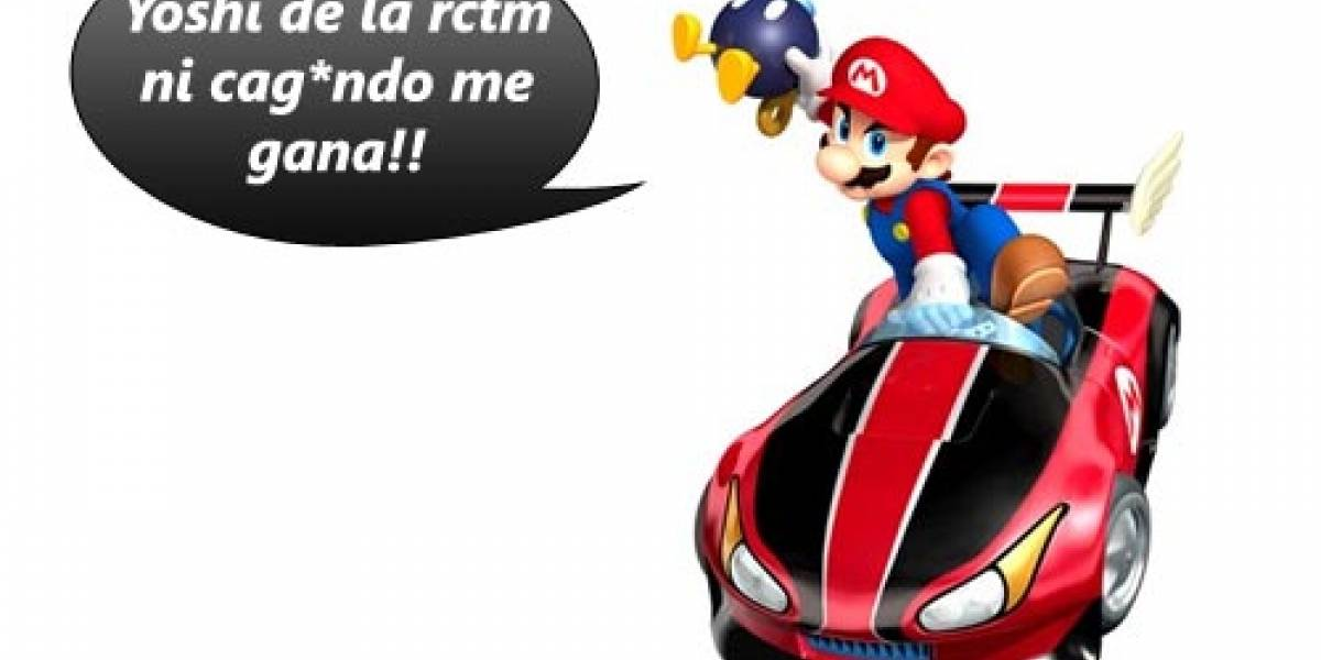 ¡Pónganle la chancleta al acelerador Don Mario!