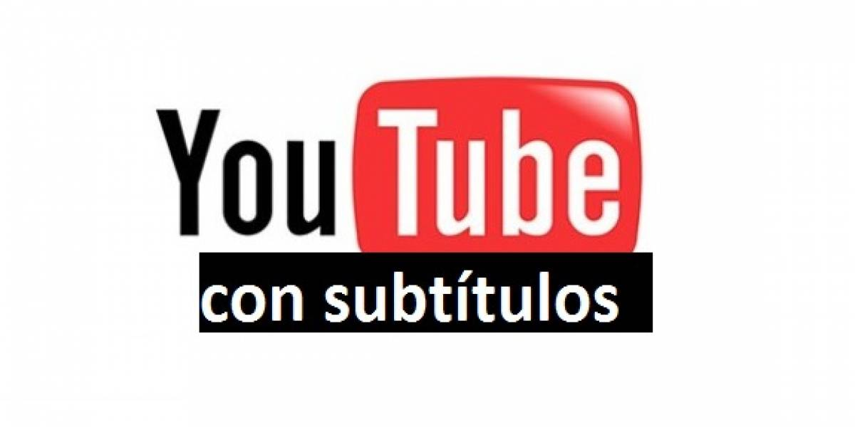 YouTube ahora tiene subtítulos automáticos para todos (los que hablan inglés)